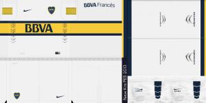 PES2013 Boca Juniors 14 15 Kits by Nach
