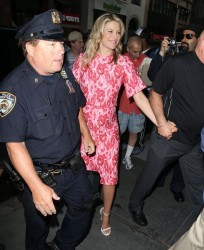 Ali Larter - Visiting the 'Today Show' in NYC 8/7/4