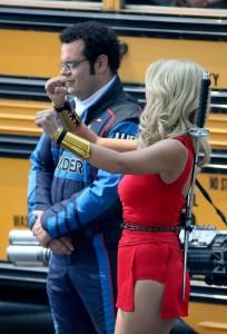 Ashley Benson on the set of Pixels – Toronto – August 7, 2014 – 44