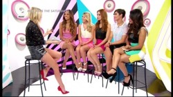 The Saturdays - MTV Asks The Saturdays 9th August 2014 576p