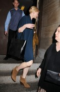Cate Blanchett Signing for fans as she leaves her play The Maids in New York 10-2014 x8