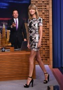 Taylor Swift visits The Tonight Show Starring Jimmy Fallon in New York 08/13/14