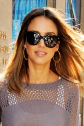 Jessica Alba at SiriusXM Studio in New York 08-14-2014