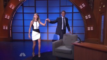 TAYLOR SWIFT - HOT - Late Night 08,14,14