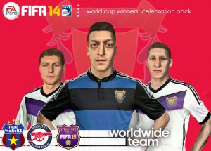 FIFA 14 World Cup Winners' Celebration Pack - WorldWideTeam