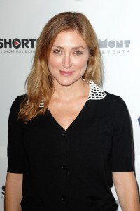 Sasha Alexander, Hollyshorts 10th anniversary opening night in Hollywood 8/14/14