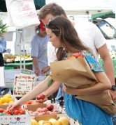 Summer Glau Seen shopping at the Farmers Market in Los Angeles August 17-2014 x29