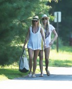 Gwyneth Paltrow and friends take a stroll in East Hampton NY August 14-2014 x30