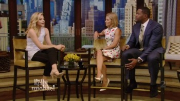 CHLOE MORETZ - GMA & LIVE with Kelly 08.18.14