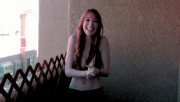 Lisa Foiles -  Ice Bucket Challenge (Bikini Top)  8/19/14