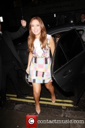 Tanya Burr nice legs at the Tanya Burr by Eye Candy Launch Party at the Sanderson Hotel 1/31/14