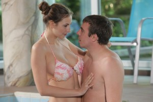 Out the Connie carter skinny dipping consider