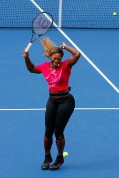 Serena Williams @ 19th Annual Arthur Ashe Kids Day (8/26/14)