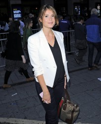 Gemma Arterton At A Concert In London 08-26-2014