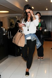 Alessandra Ambrosio At LAX 08-25-2014 (not HQ)