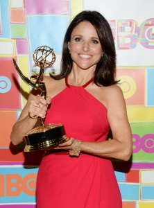 Julia Louis-Dreyfus, HBO's Emmy 2014 after party, 25/08/2014