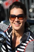 Katarina Witt - Hamburg-Berlin Klassik rally August 28-2014 x36