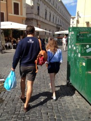 Emma Watson Out in Rome - 8/27/14