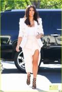 Kim Kardashian - At Menchie's Frozen Yogurt in Calabasas 8/28/14