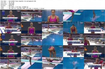 Tania Cagnotto etc 'Euro Berlin 2014 1m Final' Full HD 1080