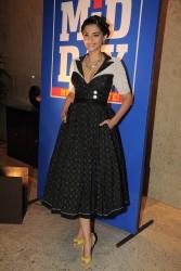 Sonam Kapoor At Mid-Day Mumbai Anthem Launch 3/19/12