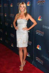 Heidi Klum Americas Got Talent Postshow Red Carpet 08-27-2014
