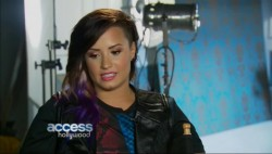 Demi Lovato - Access Hollywood - Reflects On Past Unhappiness 28th August 2014 768p