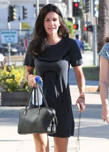 Courteney Cox, out in L.A, 03/09/2014