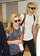 Chloe Moretz arriving at Toronto Pearson International Airport - September 5-2014 x27