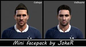 Download Mini Facepack by JokeR For PES 2013