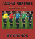 Download Adidas Referee Kits Bundesliga 14/15
