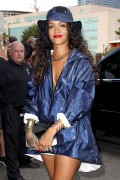 Rihanna | Arriving @ Alexander Wang Fashion Show in NY | September 6 | 19 pics