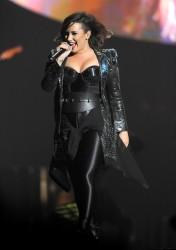 Demi Lovato Performing in Baltimore - 9/6/14