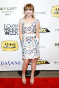 Sammi Hanratty -Nolcha Fashion Week New York Spring Collections 9/08/14