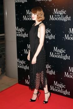 Emma Stone Magic In The Moonlight Paris Premiere Sept. 11 4x UHQ