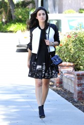 Emmy Rossum Out & About In Burbank 09-10-2014