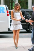 Katharine McPhee | Arriving @ a Studio in NYC | September 11 | 12 pics