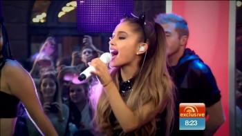 ARIANA GRANDE - HOT - Sunrise TV Australia - 9/9/14