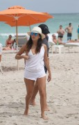 Eva Longoria & Serena Williams | Candids on the Beach in Miami | September 13 | 66 pics