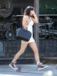 Kylie Jenner - Out & About in LA 9/14/14