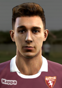 Download Darmian Face by Prince For PES 2013
