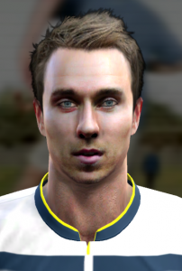 Download PES 2013 Eriksen Face by Prince
