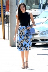 Emmy Rossum Leaving Cafe Zinque In West Hollywood 09-15-2014