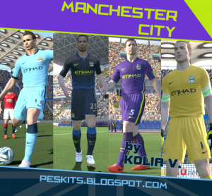 Download Manchester City 2014/2015 Home&Away&Third by Kolia V.