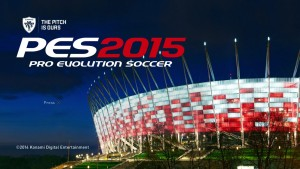 See PES 2015 Menu and Start Screen