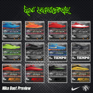 Download PES 2013 Update NIKE Preview Boot by RM_Fanaticz
