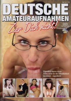Deutsche Amateuraufnahmen: Zier Dich nicht Cover