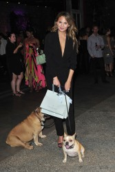 Chrissy Teigen Celebrates the new Piperlime Collection In LA 09-17-2014