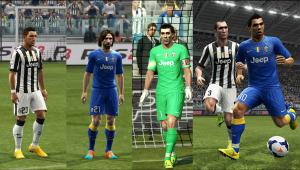 PES 2013 Juventus 14-15 GDB by Vulcanzero