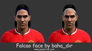 Download PES 2013 Radamel Falcao Face by baha_dir